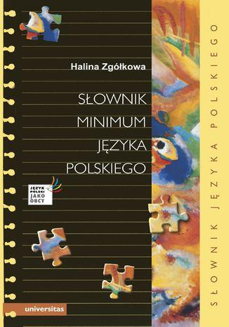 Okładka książki/ebooka Słownik minimum języka polskiego