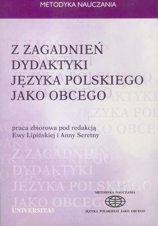 Okładka książki/ebooka Z zagadnień dydaktyki języka polskiego jako obcego
