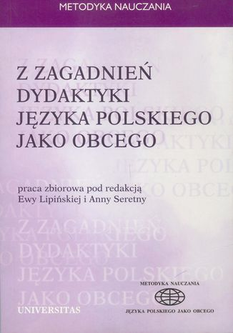 Okładka książki Z zagadnień dydaktyki języka polskiego jako obcego