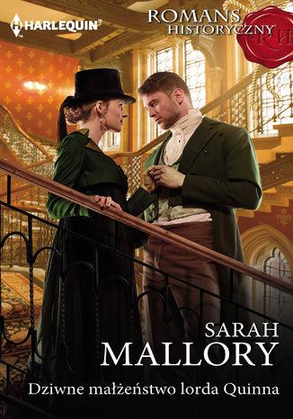 Okładka książki/ebooka Dziwne małżeństwo lorda Quinna