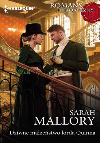 Okładka książki Dziwne małżeństwo lorda Quinna
