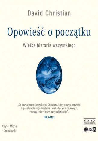 Okładka książki/ebooka Opowieść o początku. Wielka historia wszystkiego