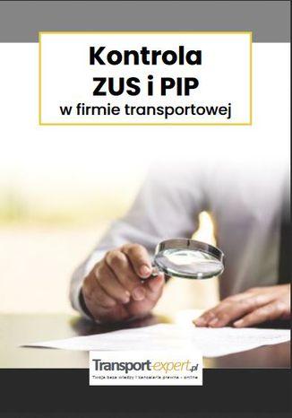 Okładka książki Kontrola ZUS i PIP w firmie transportowej