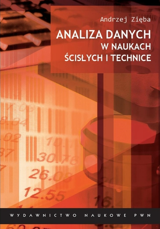 Okładka książki Analiza danych w naukach ścisłych i technice