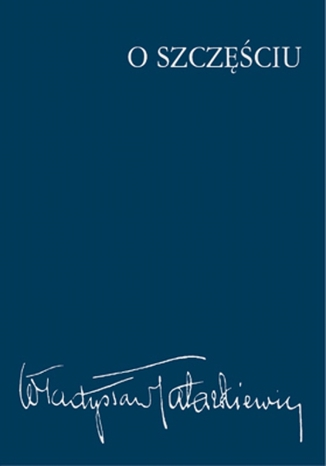 Okładka książki O szczęściu