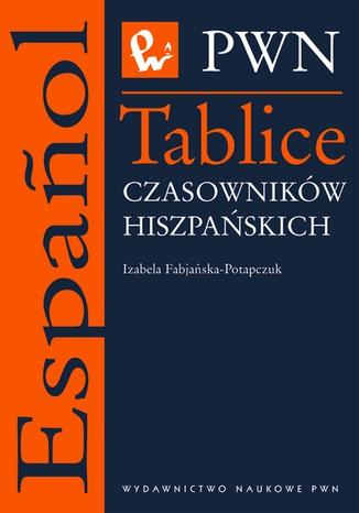 Okładka książki/ebooka Tablice czasowników hiszpańskich