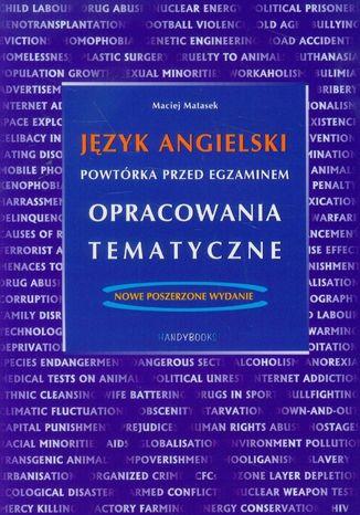 Okładka książki Język angielski - Powtórka przed egzaminem - Opracowania tematyczne