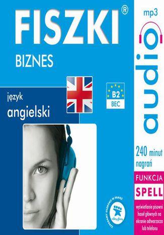 Okładka książki FISZKI audio  j. angielski  Biznes