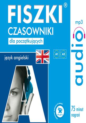 Okładka książki FISZKI audio - j. angielski - Czasowniki dla początkujących