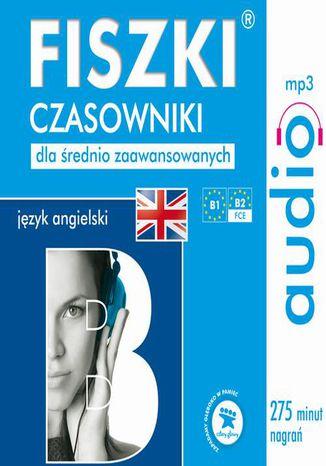 Okładka książki/ebooka FISZKI audio  j. angielski  Czasowniki dla średnio zaawansowanych