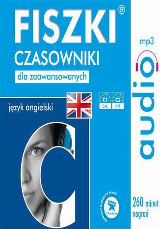 Okładka książki FISZKI audio  j. angielski  Czasowniki dla zaawansowanych