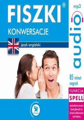 Okładka książki/ebooka FISZKI audio  j. angielski  Konwersacje