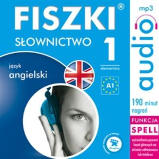 Okładka książki FISZKI audio  j. angielski  Słownictwo 1