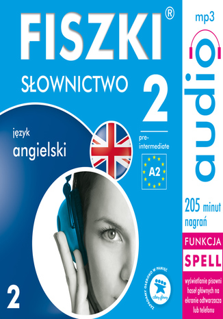 Okładka książki/ebooka FISZKI audio - j. angielski - Słownictwo 2