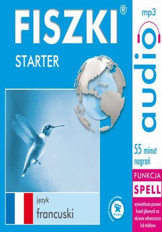 Okładka książki/ebooka FISZKI audio  j. francuski  Starter