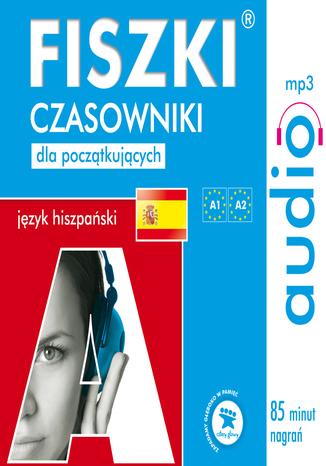 Okładka książki FISZKI audio - j. hiszpański - Czasowniki dla początkujących