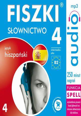 Okładka książki/ebooka FISZKI audio  j. hiszpański  Słownictwo 4