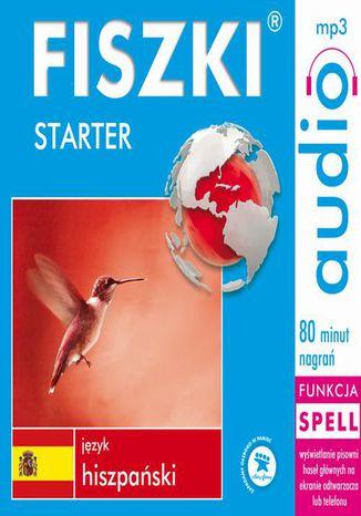 Okładka książki FISZKI audio  j. hiszpański  Starter