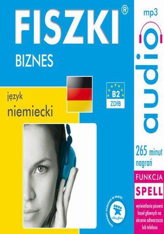 Okładka książki/ebooka FISZKI audio  j. niemiecki  Biznes
