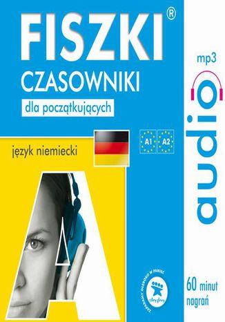 Okładka książki FISZKI audio  j. niemiecki  Czasowniki dla początkujących