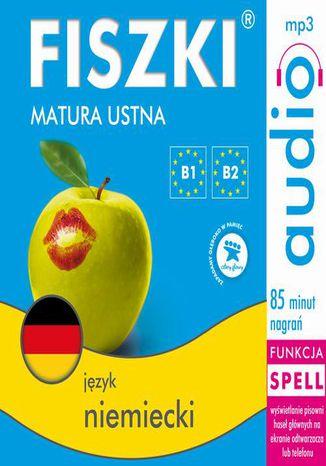 Okładka książki FISZKI audio  j. niemiecki  Matura ustna