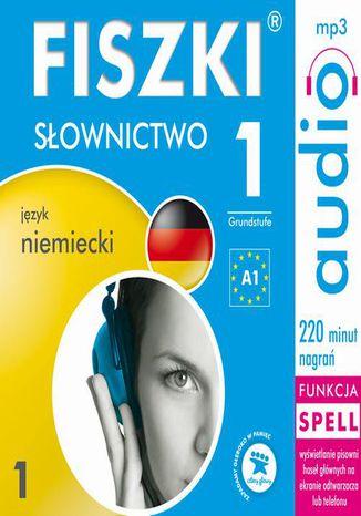 Okładka książki FISZKI audio  j. niemiecki  Słownictwo 1