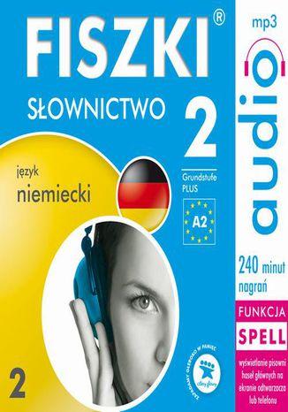 Okładka książki/ebooka FISZKI audio  j. niemiecki  Słownictwo 2