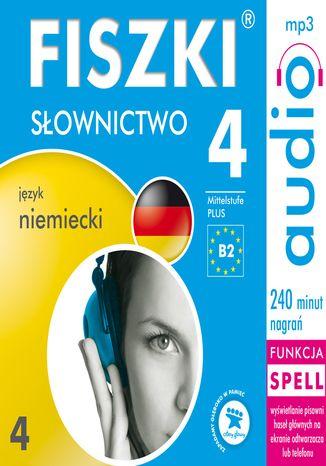Okładka książki/ebooka FISZKI audio - j. niemiecki - Słownictwo 4