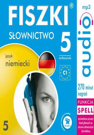 Okładka książki/ebooka FISZKI audio  j. niemiecki  Słownictwo 5