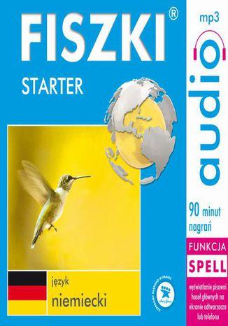 Okładka książki FISZKI audio  j. niemiecki  Starter