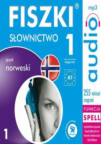 Okładka książki/ebooka FISZKI audio  j. norweski  Słownictwo 1