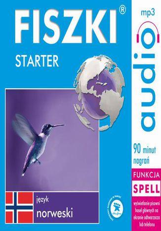 Okładka książki FISZKI audio  j. norweski  Starter