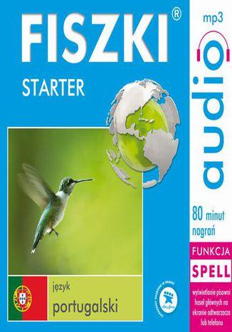 Okładka książki/ebooka FISZKI audio  j. portugalski  Starter