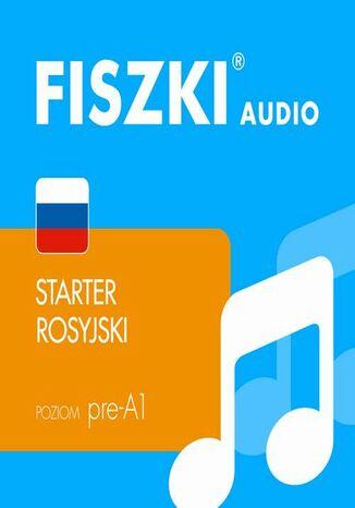 Okładka książki FISZKI audio  j. rosyjski  Starter