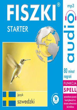 Okładka książki FISZKI audio  j. szwedzki  Starter