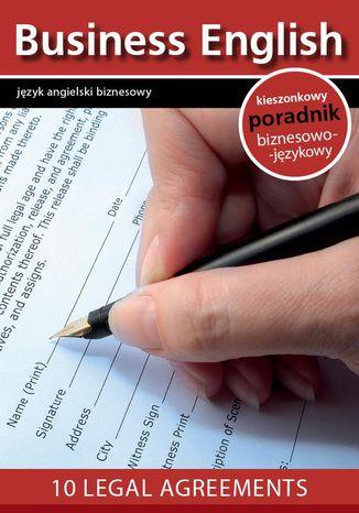 Okładka książki 10 legal agreements - 10 umów prawnych