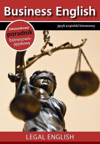 Okładka książki/ebooka Legal English - Angielski dla prawników