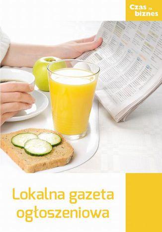 Okładka książki Lokalna gazeta