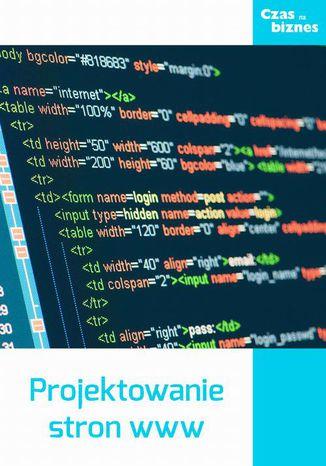 Okładka książki Projektowanie stron www