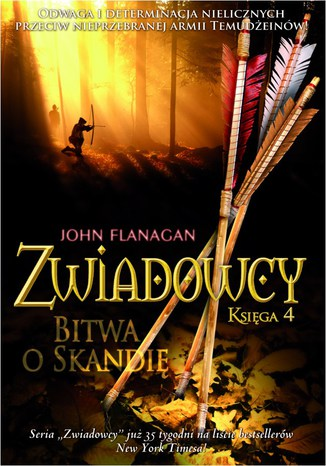 Okładka książki Zwiadowcy Księga 4 Bitwa o Skandię
