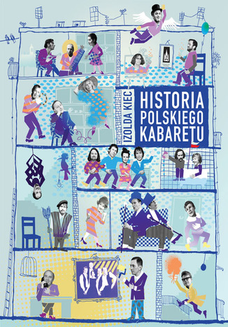 Okładka książki Historia polskiego kabaretu
