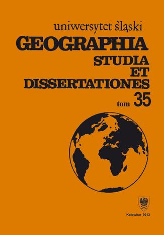 Okładka książki Geographia. Studia et Dissertationes. T. 35