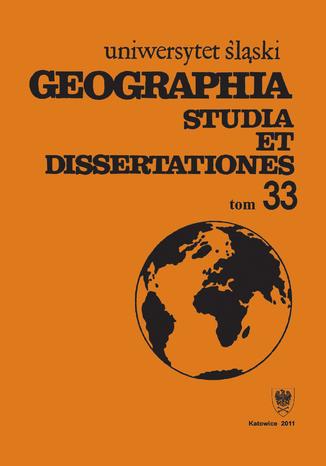 Okładka książki Geographia. Studia et Dissertationes. T. 33