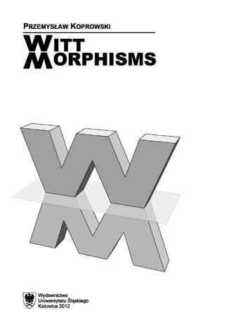Okładka książki/ebooka Witt morphisms