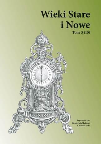 Okładka książki/ebooka Wieki Stare i Nowe. T. 5 (10)