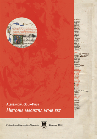 Okładka książki 'Historia magistra vitae est'. Podręcznik do języka łacińskiego dla studentów historii. Wyd. 3