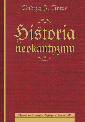 Okładka książki Historia neokantyzmu