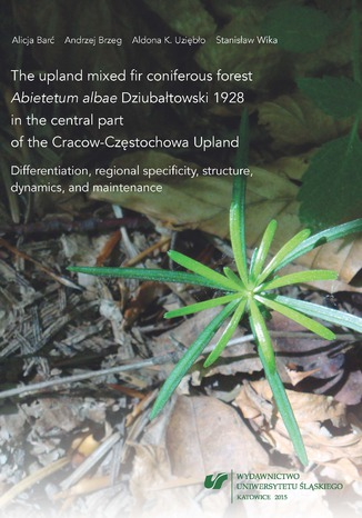Okładka książki The upland mixed fir coniferous forest