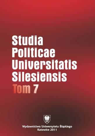 Okładka książki Studia Politicae Universitatis Silesiensis. T. 7