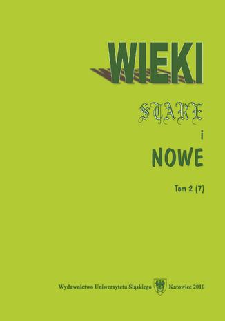 Okładka książki Wieki Stare i Nowe. T. 2 (7)